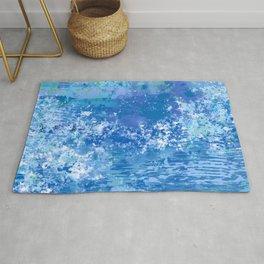 Blue Abstract, Ocean, Sky Rug