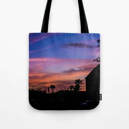 Sunsets and Shadows Tote Bag