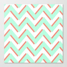 3D CHEVRON 2 Canvas Print