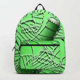 Abstract Line Bottles Backpack