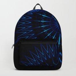 Blue Light Mandala Backpack