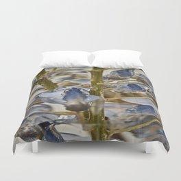 iced wisteria Duvet Cover