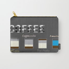International Coffee Carry-All Pouch