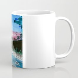 """PEACEFUL LIVING""  Coffee Mug"