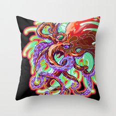 Rolling In The Deep Throw Pillow