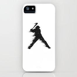 Baseball Player Batter iPhone Case