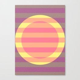 Sunsetting. Canvas Print