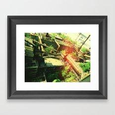Factory V2 Framed Art Print