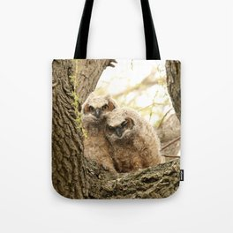 Rest your head on my shoulder Tote Bag