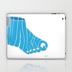 Walking Laptop & iPad Skin