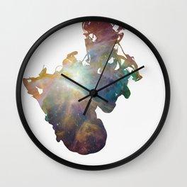 Drop of Nebula 1 Wall Clock