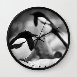 3Birds | BW Wall Clock