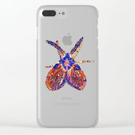 Drain Fly Inverted Clear iPhone Case