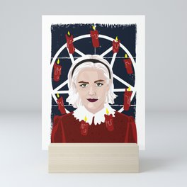 Chilling adventures, Sabrina Spellman Mini Art Print