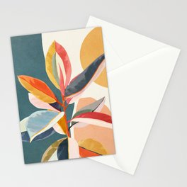 Colorful Branching Out 01 Stationery Cards