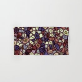 Fractal Gems 01 - Fall Vibrant Hand & Bath Towel