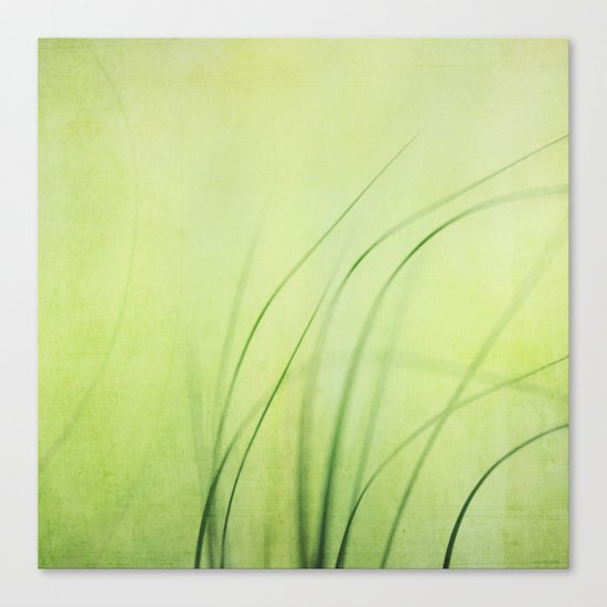 Swaying Grasses (with texture) Canvas Print