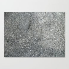 Sand Abstract Canvas Print