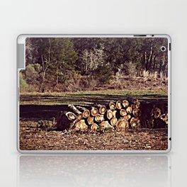 Ranch Firewood Laptop & iPad Skin