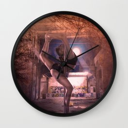 Unexplained lost space Wall Clock