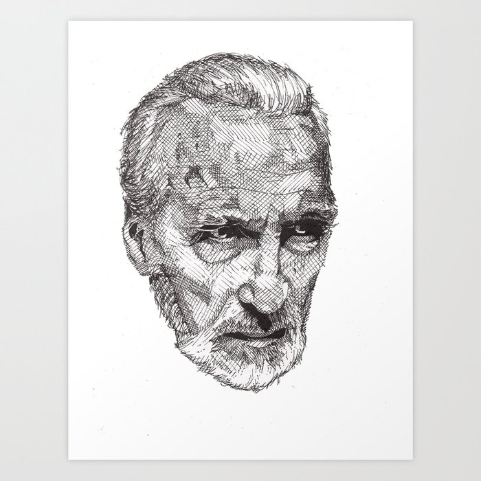 Christopher Art Print