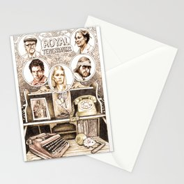 The Royal Tenenbaums by Aaron Bir Stationery Cards