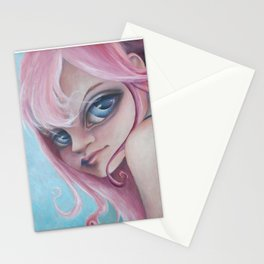 Z imagination Zoe, pretty in pink Stationery Cards