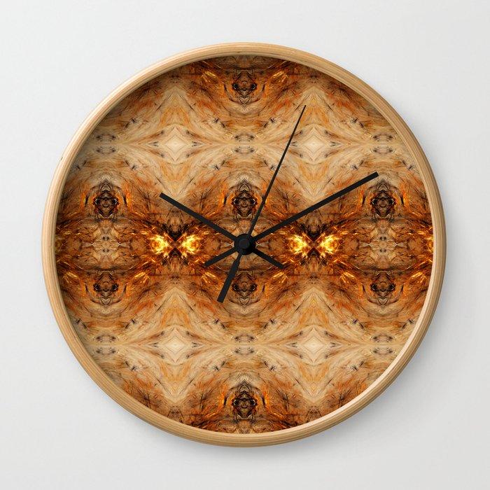 Fractal Art - Bi-Starter B2 Wall Clock