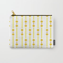 geometric design yellow rhombuses Carry-All Pouch