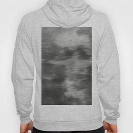 Fusion Abstract Watercolor Blend Pantone Pewter / Fluid Art Ink Hoody