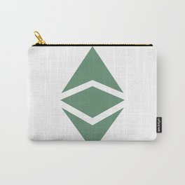 Ethereum Classic (ETC) Logo Carry-All Pouch