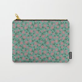 Tossed Lotus Carry-All Pouch