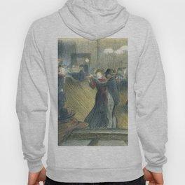 "Théophile Steinlen ""Le Bal Musette: The Dance"" Hoody"