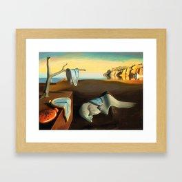 Persistence of Memory Framed Art Print