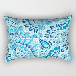 Inverted Ocean Mandalas Rectangular Pillow