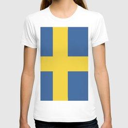 Sweden flag emblem T-shirt
