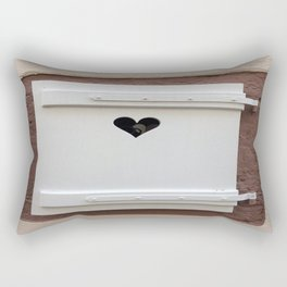 Jolie fenetre Rectangular Pillow