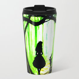 alice and rabbits Travel Mug