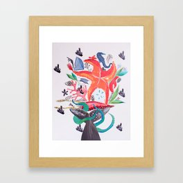 Wedding Bouquet Framed Art Print
