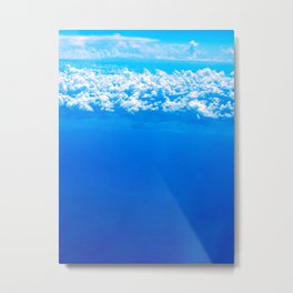 Clouds of Pompei Metal Print
