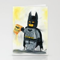 superhero Stationery Cards featuring Lego Superhero by Toys 'R' Art