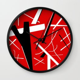 Monster Stripes Wall Clock