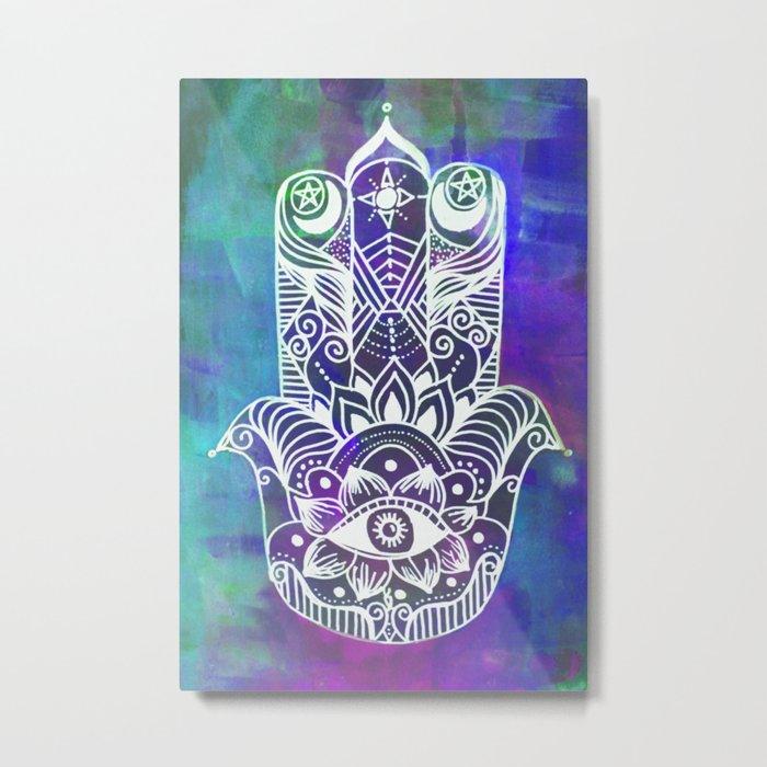 Vibrant Vibes Metal Print