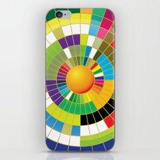 Color Wheel iPhone & iPod Skin