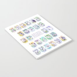 Alphabet Animals P Notebook