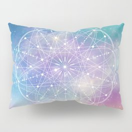 Sacred Geometry (Interconnected) Pillow Sham