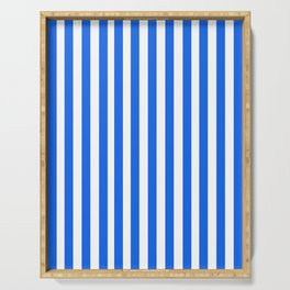 Blue lines Serving Tray