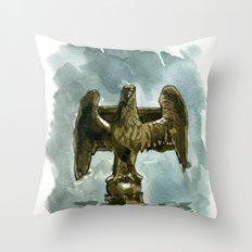 rain ghosts, part two Throw Pillow