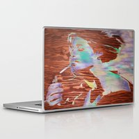 cigarettes Laptop & iPad Skins featuring 1000 cigarettes  by C.BENNETT