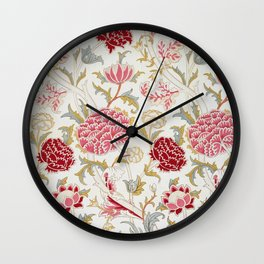 "William Morris ""Cray"" 3. Wall Clock"